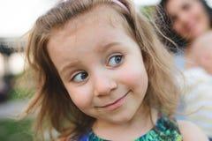 zabawna dziewczyna portret Obraz Royalty Free
