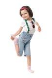 zabawna dziewczyna trochę Zdjęcie Royalty Free