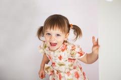 zabawna dziewczyna trochę Zdjęcia Royalty Free
