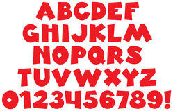 zabawna font Zdjęcie Stock