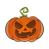 zabawna Halloween pączuszku Obrazy Stock