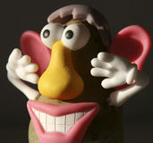 zabawna twarz Obrazy Stock