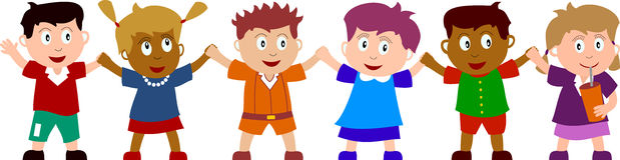 zabawne dzieci ilustracja wektor