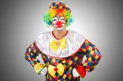 zabawne klaun Obrazy Stock