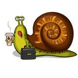 zabawne ślimak ilustracji