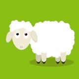 zabawne owce Obrazy Royalty Free