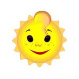 zabawne słońce Obrazy Royalty Free