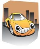 zabawne samochód royalty ilustracja