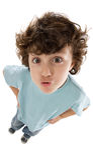 zabawne zdjęcie dziecka Zdjęcia Stock