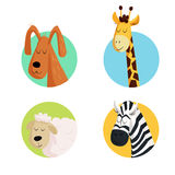 zabawne zwierząt Ilustracja Wektor