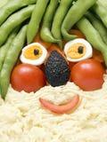 zabawnie żywności Fotografia Stock
