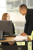 zabawnie biznesowej ludzi ma biurowych Fotografia Stock