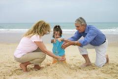 zabawnie plażowa zdjęcie stock