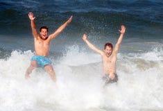 zabawnie plażowa obraz stock