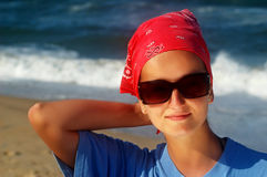 zabawnie plażowa Zdjęcie Royalty Free
