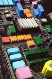 Zabawy deski kolorowy elektroniczny model dla dzieci gemowych zdjęcie royalty free
