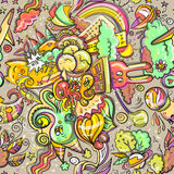 Zabawy doodleart Obraz Royalty Free