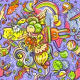 Zabawy doodleart Obrazy Stock