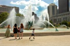 Zabawy fontanna Zdjęcie Stock