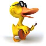 Zabawy kaczka ilustracja wektor