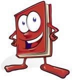 Zabawy książkowa kreskówka Zdjęcie Royalty Free