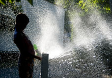 zabawy lata woda zdjęcie stock