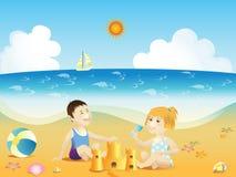 zabawy lato royalty ilustracja