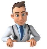 Zabawy lekarka ilustracji