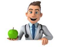 Zabawy lekarka royalty ilustracja