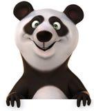 Zabawy panda ilustracja wektor