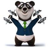 Zabawy panda Zdjęcia Stock