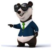 Zabawy panda Obrazy Royalty Free