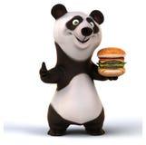 Zabawy panda Zdjęcie Stock
