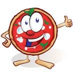 Zabawy pizzy kreskówka ilustracja wektor