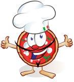 Zabawy pizzy kreskówka ilustracji