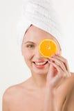zabawy pomarańcze obrazy royalty free