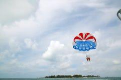 Zabawy przygoda żeglowanie w Bahamas Fotografia Stock