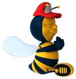 Zabawy pszczoła Zdjęcia Royalty Free