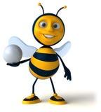 Zabawy pszczoła Zdjęcie Stock