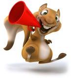 Zabawy wiewiórka Zdjęcie Royalty Free
