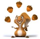 Zabawy wiewiórka royalty ilustracja