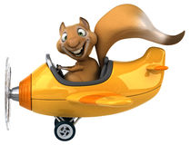 Zabawy wiewiórka Obrazy Stock