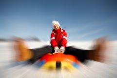zabawy zima Fotografia Stock