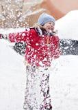 zabawy zima Obrazy Royalty Free