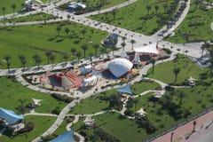 Zabeel公园在迪拜 图库摄影