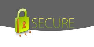 zabezpieczenia danych Zdjęcie Stock