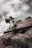 zabity żołnierz zdjęcia royalty free
