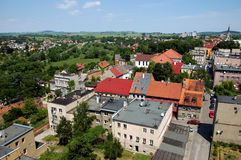 Zabkowice Slaskie town in Poland Royalty Free Stock Photos