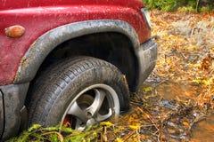 Zablokowany SUV Zdjęcie Stock