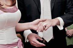 zabranie ślubowanie obraz stock